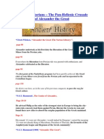 Modern Historians - The Panhellenic Crusade of Alexander the Great