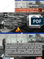 Procesos Constructivos de Las Viviendas en La Ciudad de Chiclayo