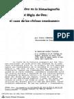 CORDOBA, Pedro. La Historiografia e Los Falsos Cronicones