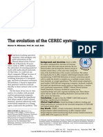 The Evolution of the CEREC System