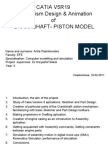 Crankshaft Piston Model