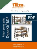 Mbs Rafturi Metalice Pentru Depozitare Paleti Depokit Rdp 45839
