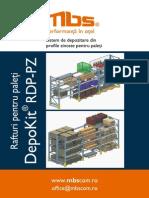 Mbs Rafturi Metalice Pentru Depozitare Paleti Depokit Rdp Pz 45840