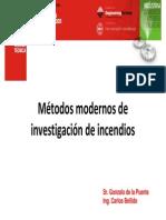 1. Métodos Modernos de Investigación de Incendios I