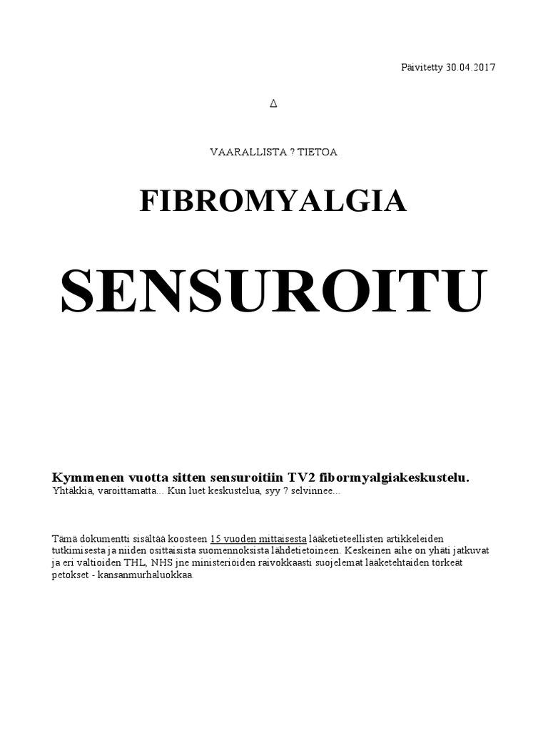Sensuroitu Fibromyalgia 6884f909fa