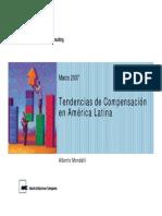 Tendencias en Compensacion America Latina Mercer 2007