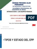 Tipos y Estado Del Epp