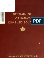 (1920) Retraining Canada's Disabled Soldiers