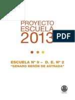 PROYECTO ESCUELA2013