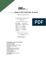 Laberinto de Amor - Miguel de Cervantes
