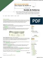 Métricas irregulares _ Sonido de Guitarras
