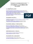 Comentarios a las obras de Platón