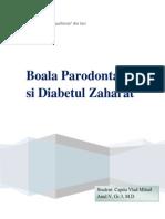 Boala Parodontala Si Diabetul Zaharat