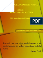 SESION 1 MISION EMPRESARIAL