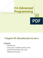 Chapter 01 Intro to Java
