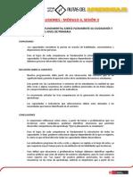 Modulo IV Conclusiones Sesion 3