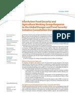 Food Security Paper 102209