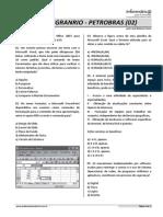 Quest_es CESGRANRIO - Petrobras (Listagem 02)