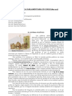 LA REPÚBLICA PARLAMENTARIA EN CHILE