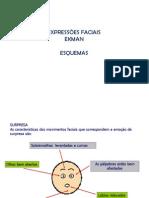 Expressões faciais esquemas