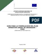 observatorio de políticas públicas-guía para la formulación del plan operativo anual de inversión-poai-(13 pág - 224 kb)