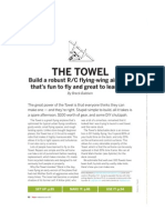 """The Towel"" Model Plane Instructions"
