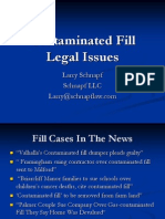 Contaminated Fill Legal Issues