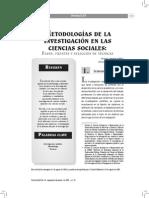 SESION 2 METODOLOG+ìAS DE LA INVESTIGACION DE LAS CIENCIAS SOCIALES