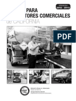 Manual Para Conductores Comerciales de California