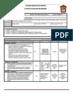 Plan y Programa de Evaluacion FCyE I BLOQUE V