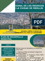 Gestión Integral de los  Residuos Sólidos en la Ciudad de Medellín
