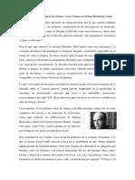 Prolegómenos a la ecología de Ortega y Gasset