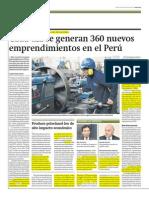 Emprendimiento Peru 1 - Set 2013