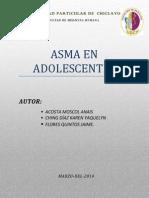 Asma en Adolescentes Terminado