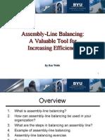 Free Quality - Line Balancing - Rex Webb