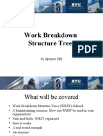 Work Breakdown Structure Trees - Spencer Hill