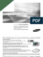 Uputstvo Samsung VP MX20 En