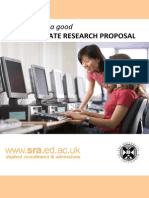 2009 Research Proposal Guide