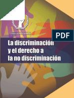 discriminación y derechos no discriminación
