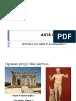 El arte griego para 2º de bachiller