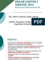 Sesion 4 Conceptos Básicos de la Administración de costos 2014