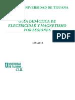 Guia Didactic a de Electricidad y Magnetism o