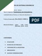 Presentación de la materia ISD