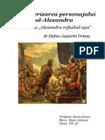 Caracterizarea Personajului Principa1 Alexandru