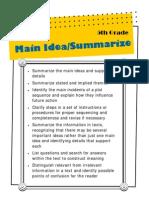 5th - Main Idea