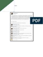 Discourse Analysis on Facebook