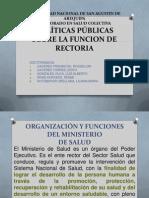 Funcion de Rectoria Sede Cusco