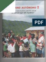 Gobierno autonómo I. Zapatistas.