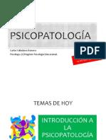 Psicopatología Clase 2