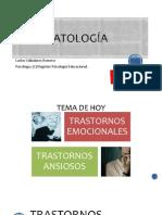Psicopatología Clase 7